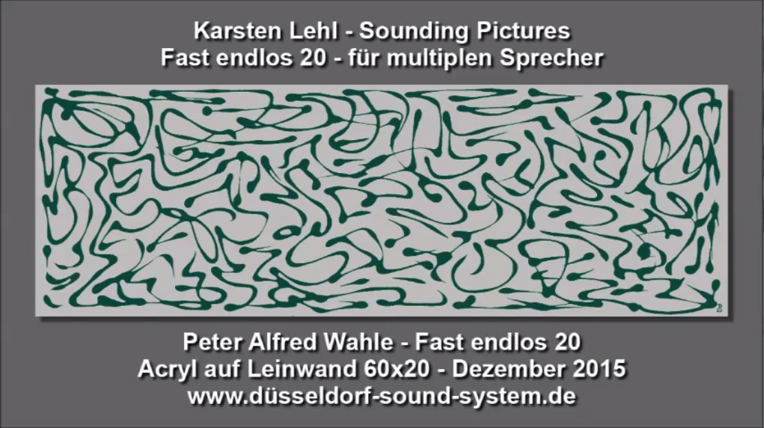 Sounding Pictures Fast endlos 20